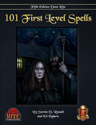 101 1st Level Spells