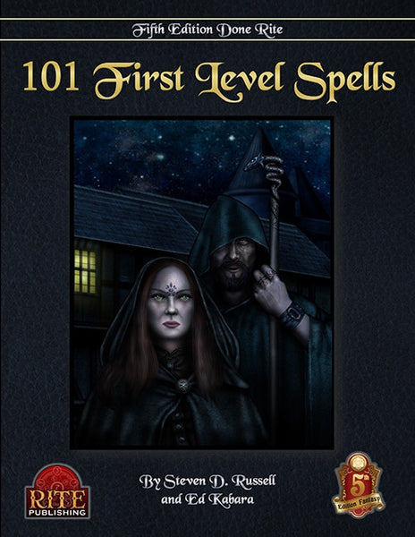 101 1st Level Spells (5th Edition)