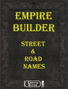 Empire Builder Kit - Street & Road Names