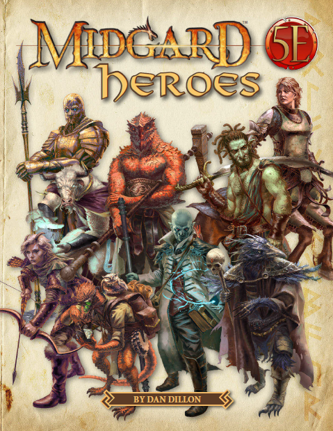 Midgard Heroes for 5th Edition