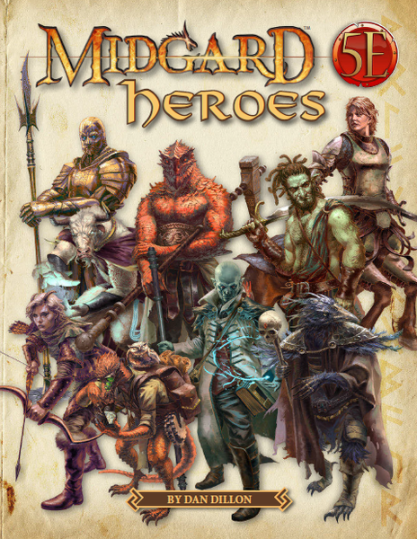 Midgard Heroes for 5th Edition (5e)