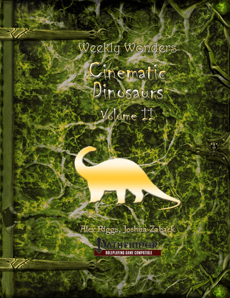 Weekly Wonders - Cinematic Dinosaurs Volume II