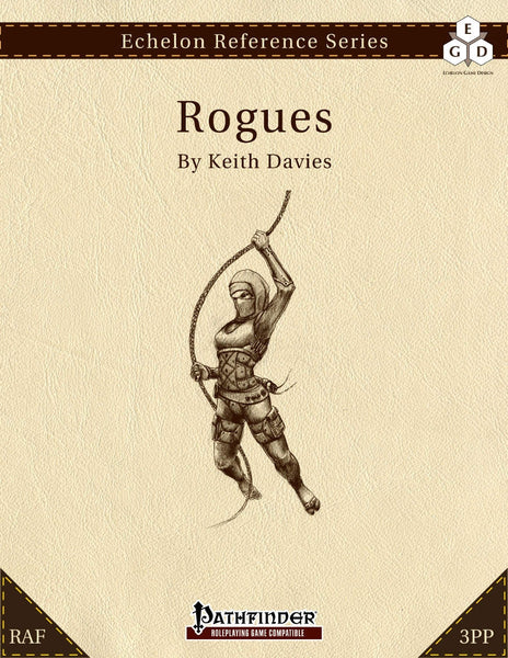 Echelon Reference Series: Rogues (3pp+PRD)
