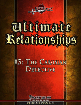 Ultimate Relationships #3: The Cassisian Detective
