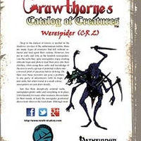 Crawthorne's Catalog of Creatures Werespider for Pathfinder