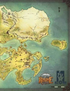 Midgard - The World of Rhune (world map)
