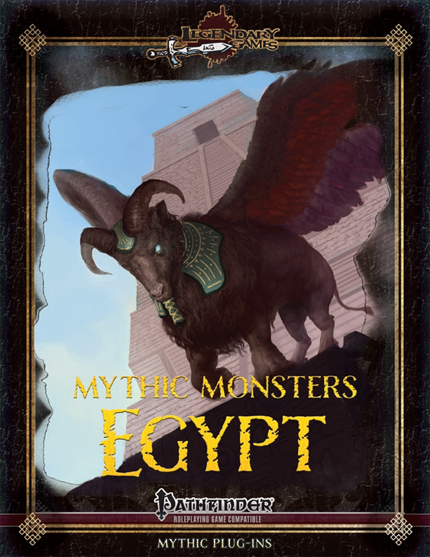 Mythic Monsters 34: Egypt