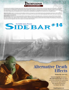 Sidebar #14 - Alternative Death Effects