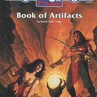 Advanced D&D 2nd Edition: Book of Artifacts (HC-Vintage)