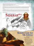 (5e) Sidebar #02 - Monster Lore for 5th Edition