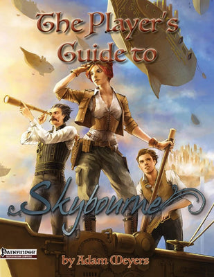 The Player's Guide to Skybourne (PRINT ONLY)