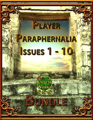 Player Paraphernalia Issues 1-10 Bundle