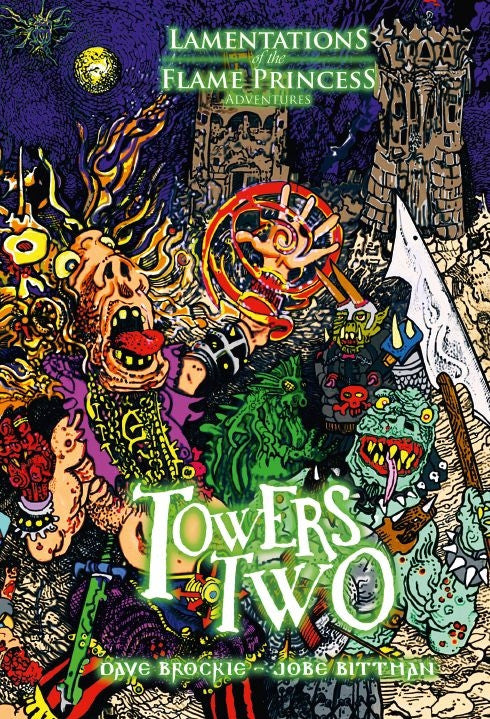 Lamentations Of The Flame Princess: Towers Two (Hardcover)