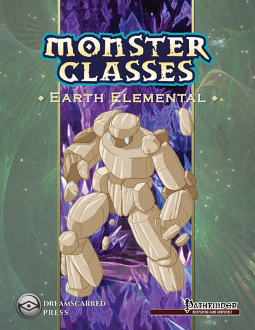 Monster Classes: Earth Elemental