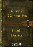 Quick Generator - Food Dishes