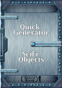 Quick Generator - Sci-Fi Objects