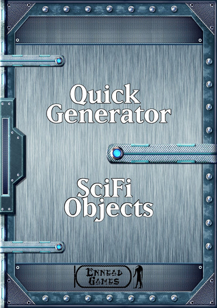 Quick Generator - Sci-Fi Objects & Items