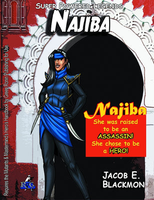 Super Powered Legends: Najiba