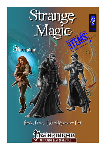 Strange Magic Items - Ethermagic