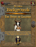 5th Edition Backgrounds - The Stuff of Legends