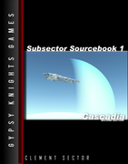 Subsector Sourcebook 1: Cascadia 2nd edition (OGL Version)