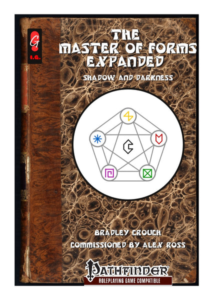Master of Forms Expanded - Shadow and Darkness