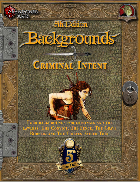 Fifth Edition Backgrounds - Criminal Intent