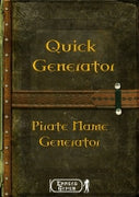 Quick Generator - Pirate Name Generator