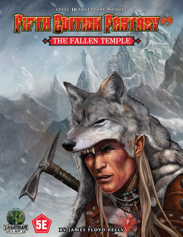 Dungeon & Dragons Adventure - Fifth Edition Fantasy #9 The Fallen Temple
