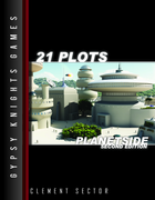 21 Plots: Planetside 2nd edition (OGL Version)