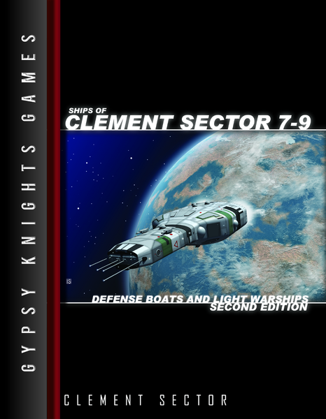 Ships of Clement Sector 7-9: Defense Boats and Light Warships 2nd edition (OGL Version)