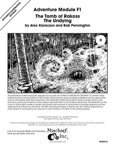 F1 The Tomb of Rakoss the Undying (Illustration Book)