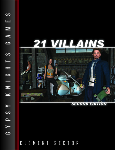 21 Villains 2nd edition (OGL Version)