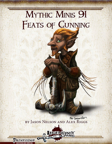 Mythic Minis 91: Feats of Cunning