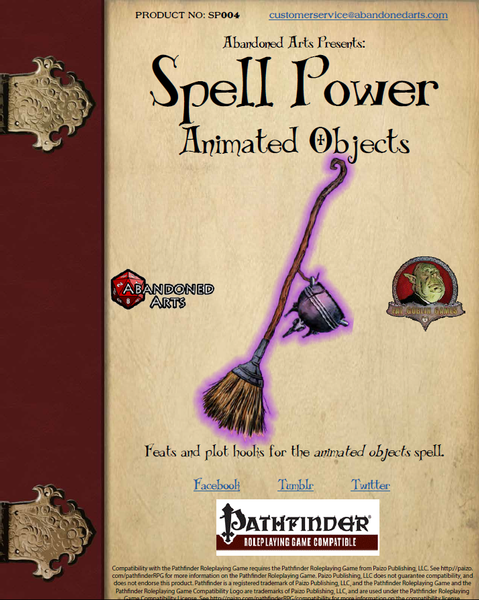 Spell Power: Animate Object