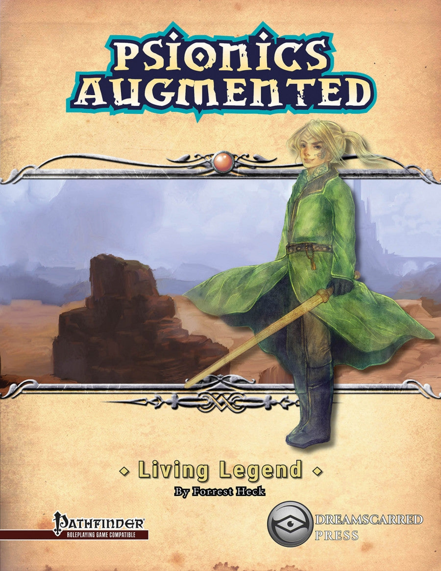 Psionics Augmented: Living Legend