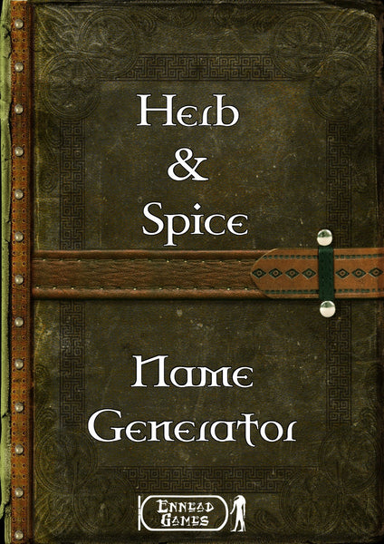 Herb & Spice Name Generator