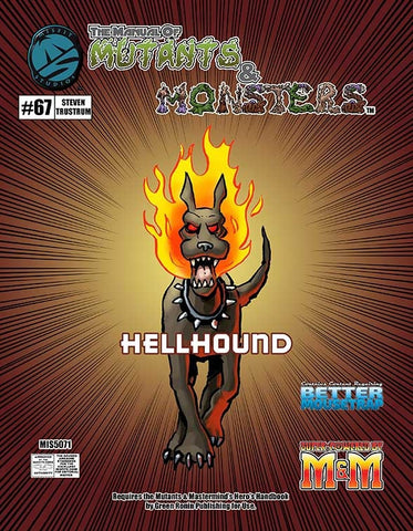 The Manual of Mutants & Monsters Hellhound