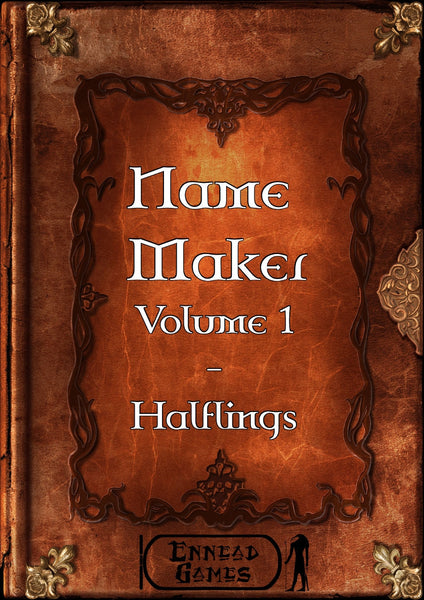 Name Maker Volume 1 - Halflings