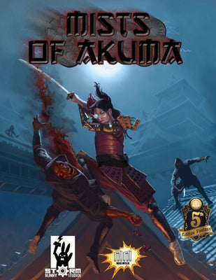 Mists of Akuma: Eastern Fantasy Noir Steampunk for 5E