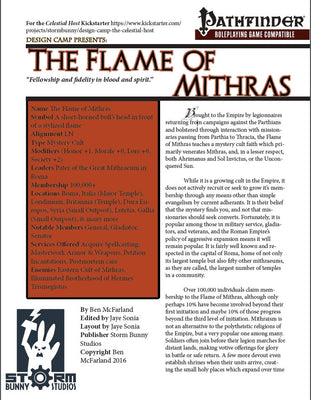 The Flame of Mithras