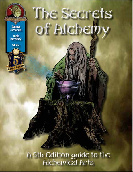 The Secrets of Alchemy for 5th Edition