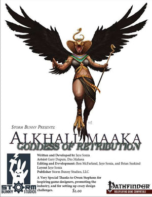 Storm Bunny Presents: Alkhali Maaka - The Goddess of Retribution