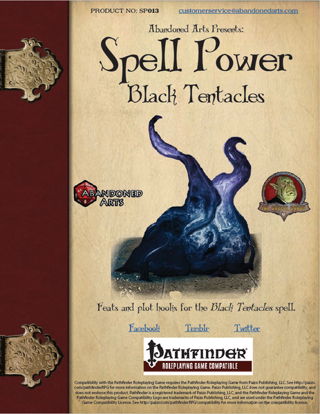 Spell Power - Black Tentacles