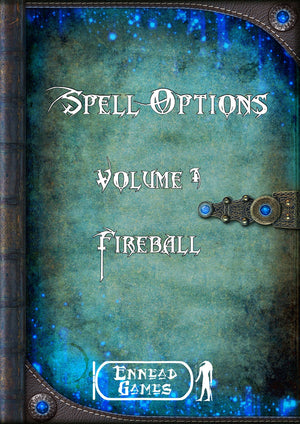 Spell Options 1 - Fireball