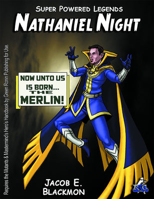 Super Powered Legends: Nathaniel Night