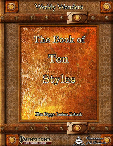 Weekly Wonders: The Book of Ten Styles