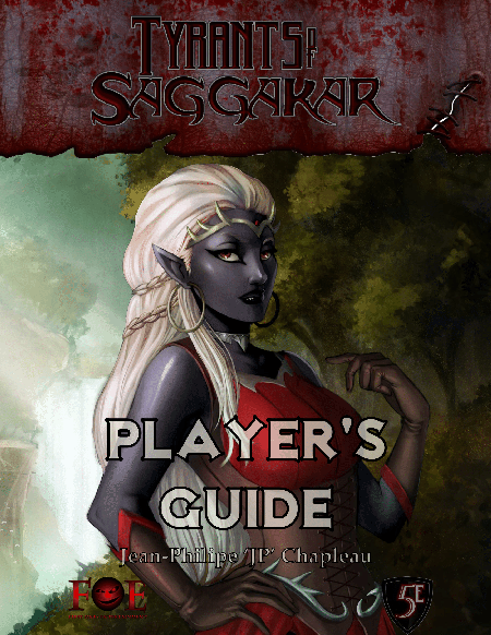 Tyrants of Saggakar: Player's Guide (5e)