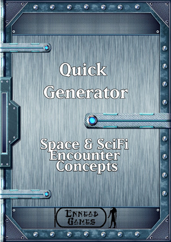 Quick Generator - Space & Sci-Fi Encounter Concepts