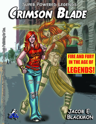 Super Powered Legends: Crimson Blade